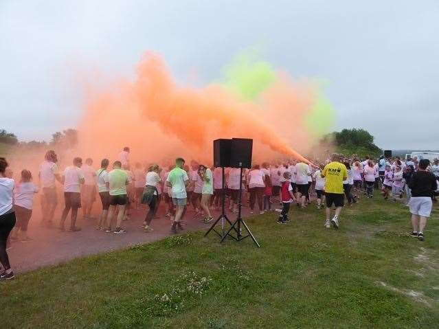The 2019 KM Colour Run takes place at Betteshanger Park on Sunday, June 9 (11650708)