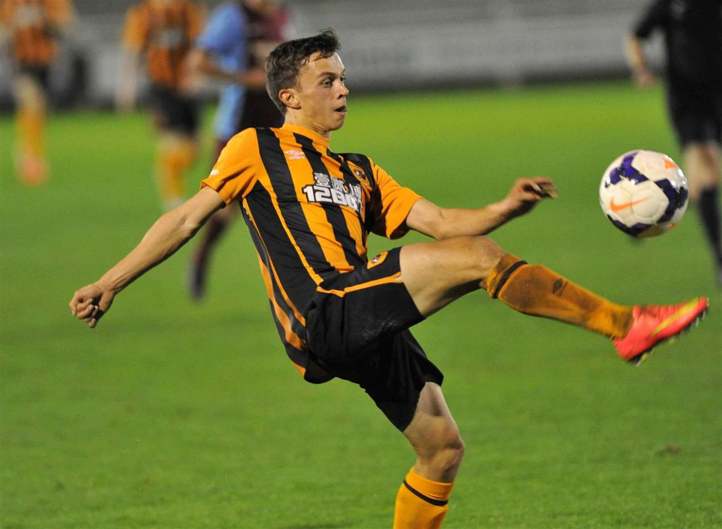 Johan ter Horst in action for Hull's under-23s Picture: Jack Harland/Hull City