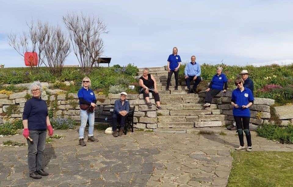 Volunteers were on BBC2's Gardeners World
