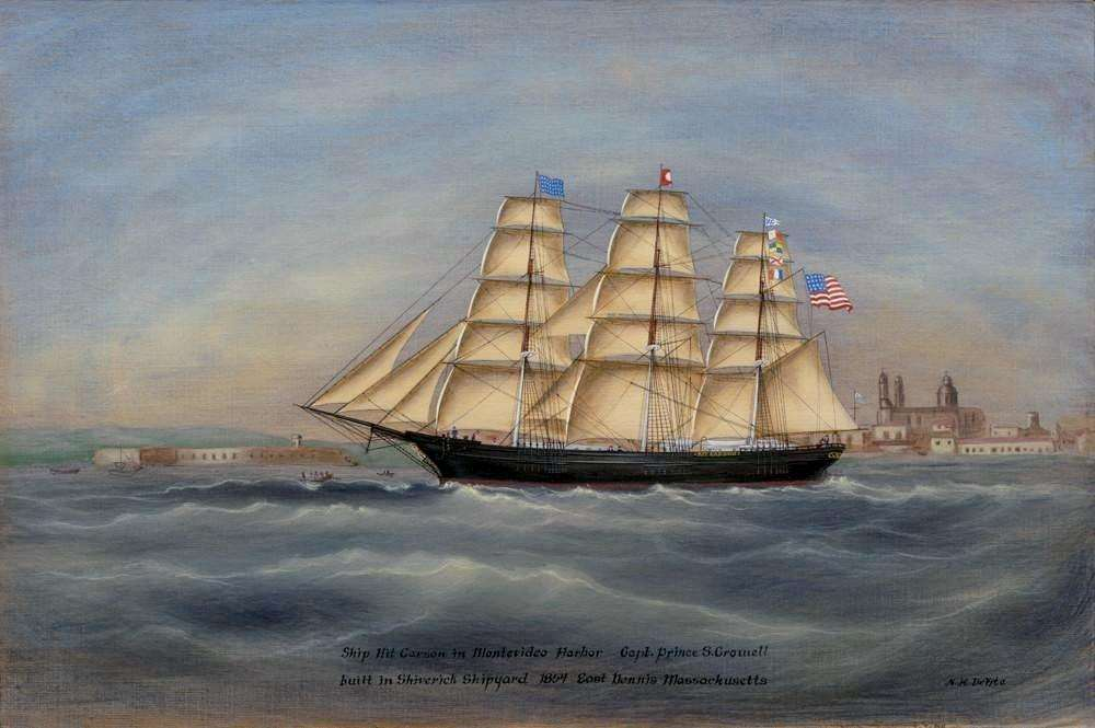 The owners of The Kit Carson were fleeced by greedy boatmen (Nancy DeVita/shiverickships.com)