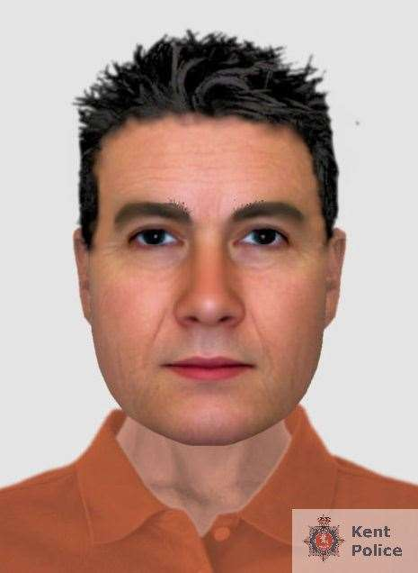 An efit of the man police would like to speak to Picture: Kent Police