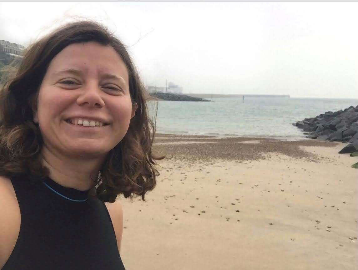 Kirsty Hogben completed a year-long challenge to swim in the sea every day (37934704)