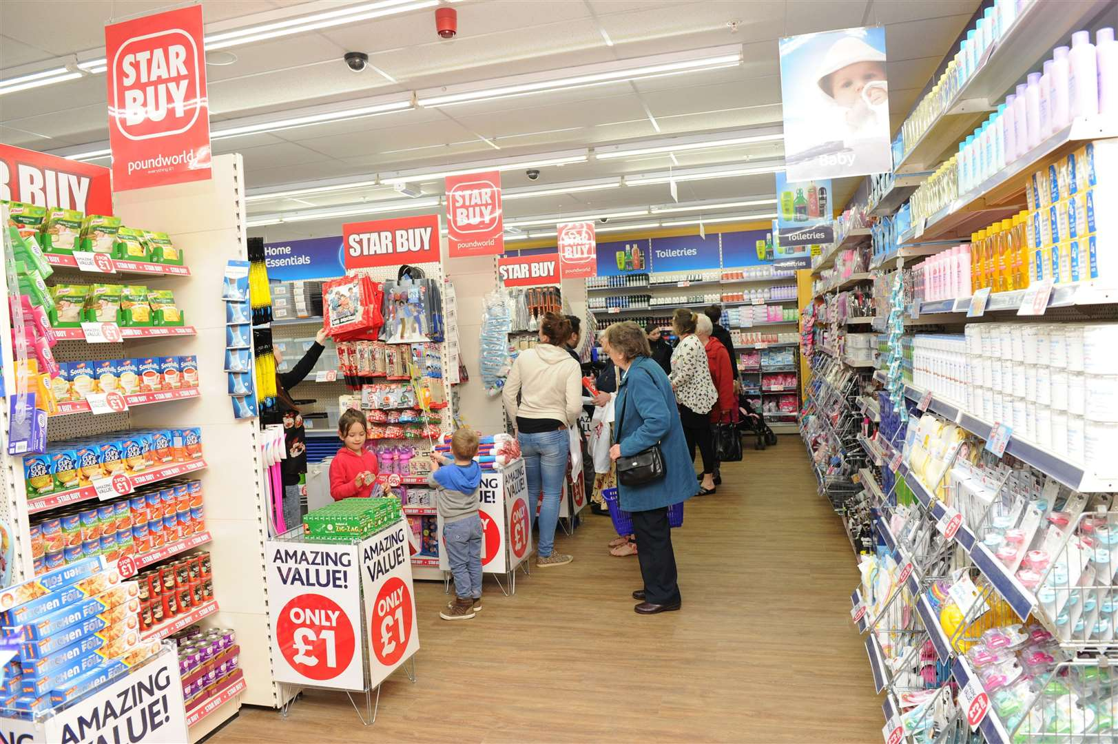Poundworld in Dartford faces an uncertain future