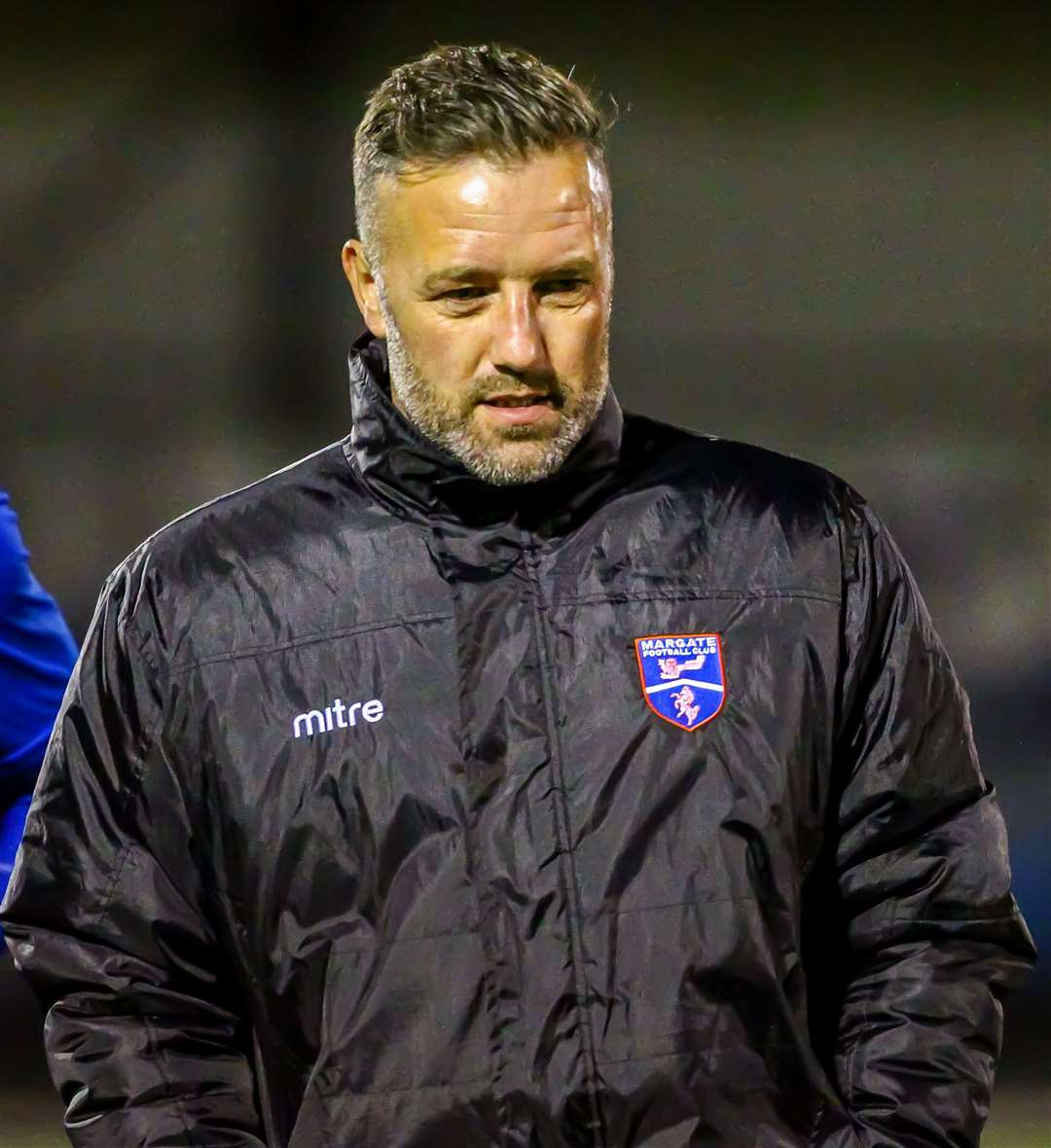 Margate boss Jay Saunders Picture: Oakley Photosports