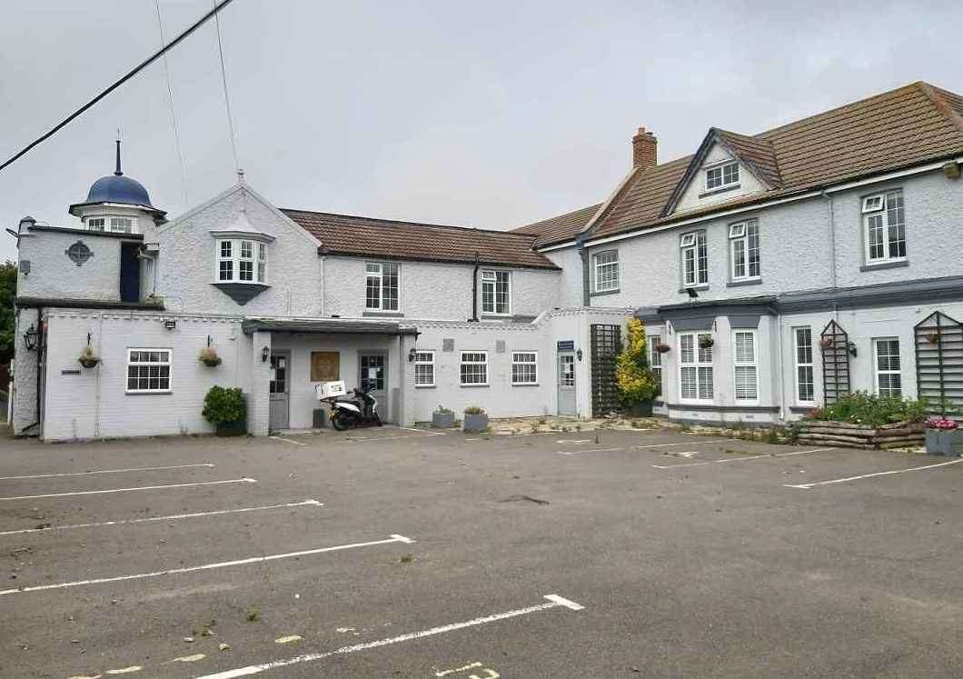 The pub boasts ample parking, a bar, restaurant and eight rooms. Picture Fleurets