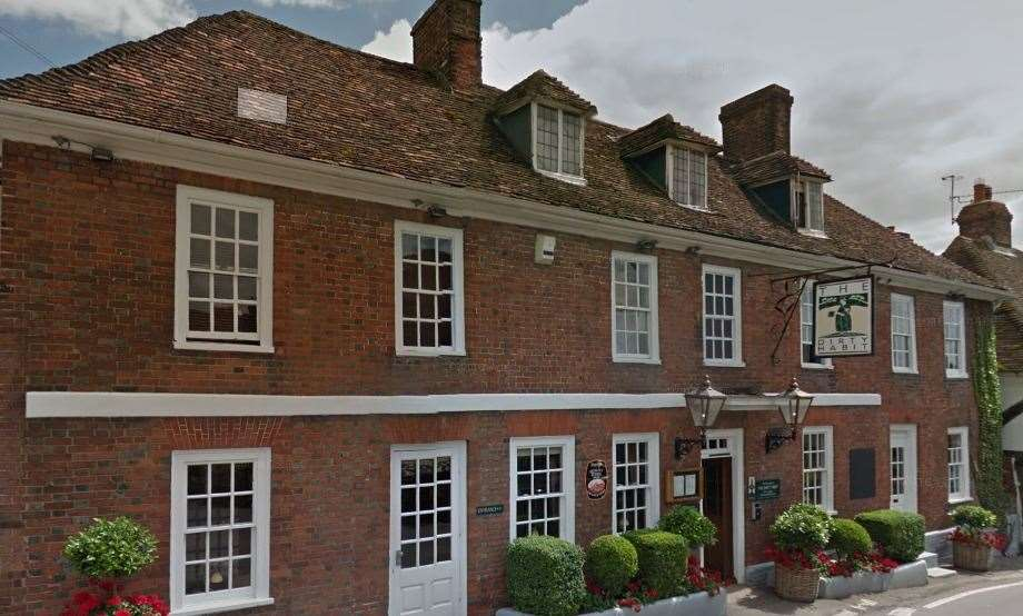 The Dirty Habit in Hollingbourne is one of the taverns whose menu is already on the site. Picture: Google street view