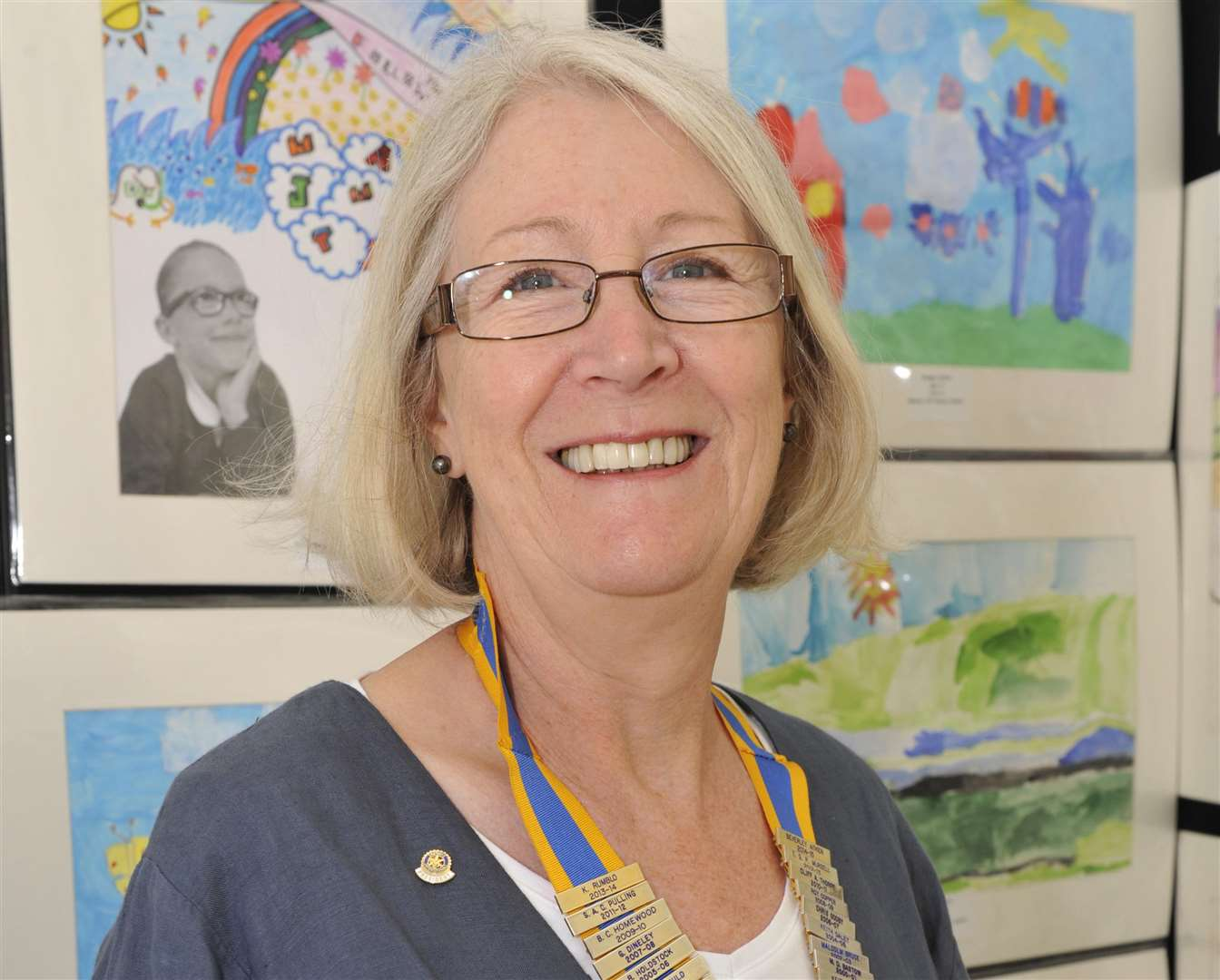 Beverley Aitken, who is the current treasurer of the Margate Rotary Club, and was also its president between 2014-15. Picture: Tony Flashman