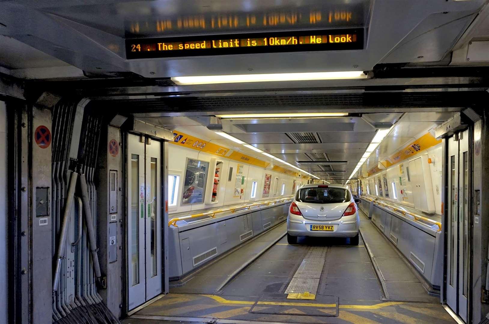 Nine Eurotunnel passenger shuttle trains to get re-vamp