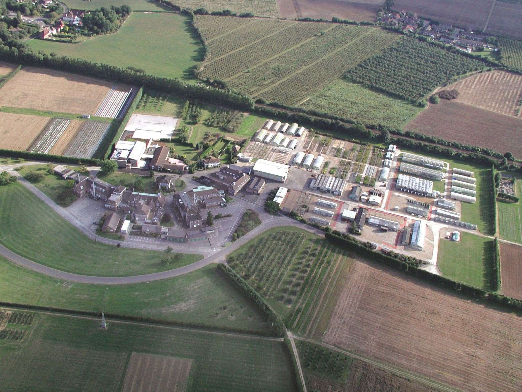 The East Malling Research Centre as it is now