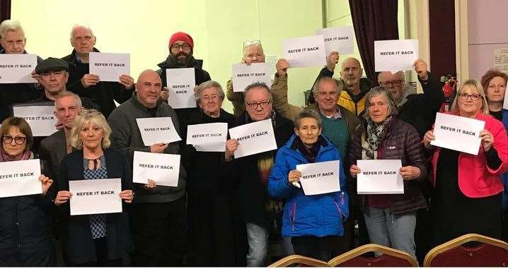 Thanet campaigners are bidding for crowdfunding to pay for a judicial review against the closure of the stroke unit at the QEQM in Margate (8376339)