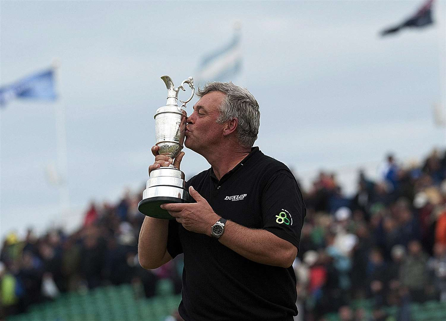 Darren Clarke - winner of The Open 2011 at Royal St George's. Picture: Barry Goodwin