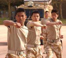 The Gurkhas in action