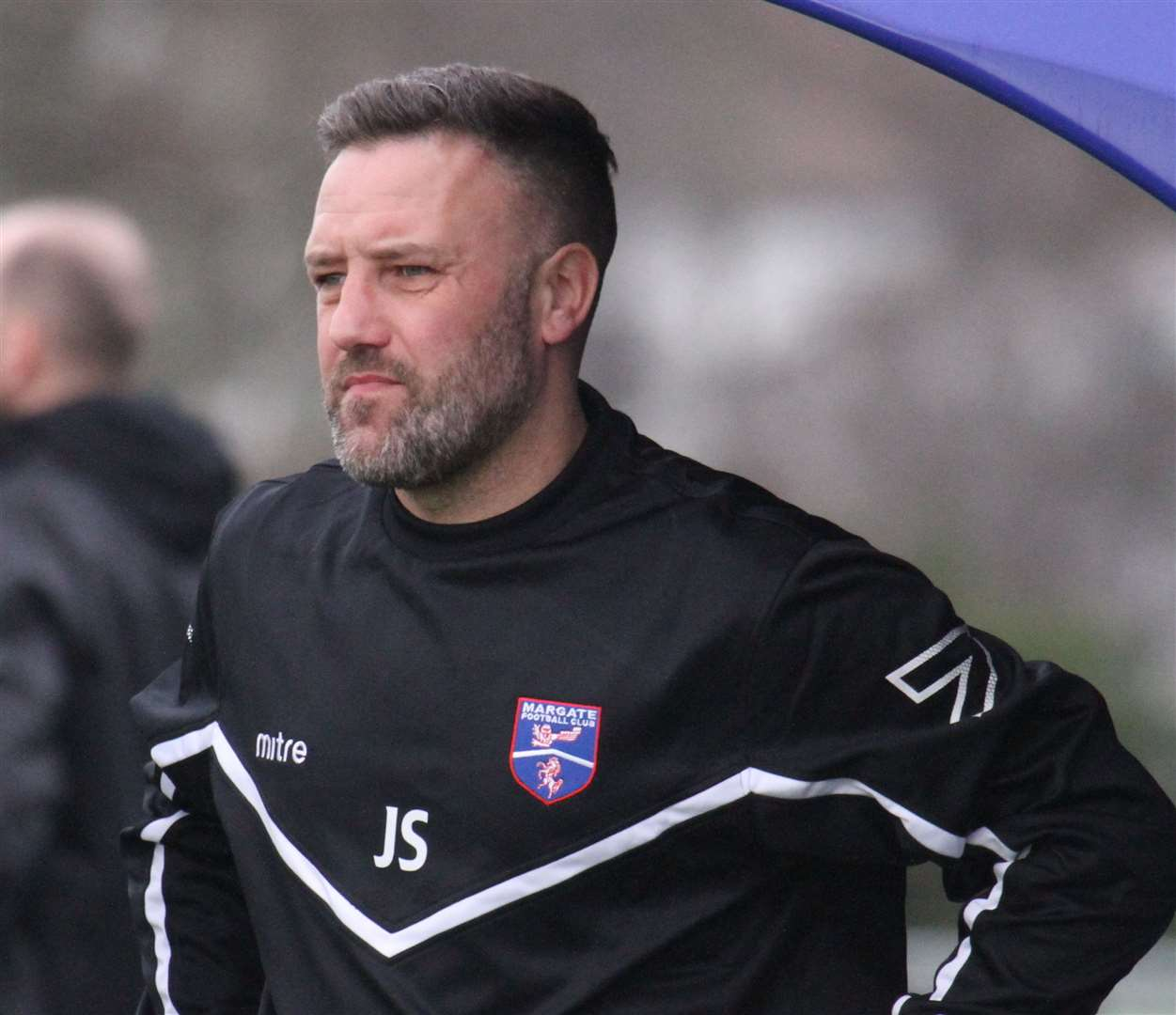 Margate manager Jay Saunders Picture: Don Walker