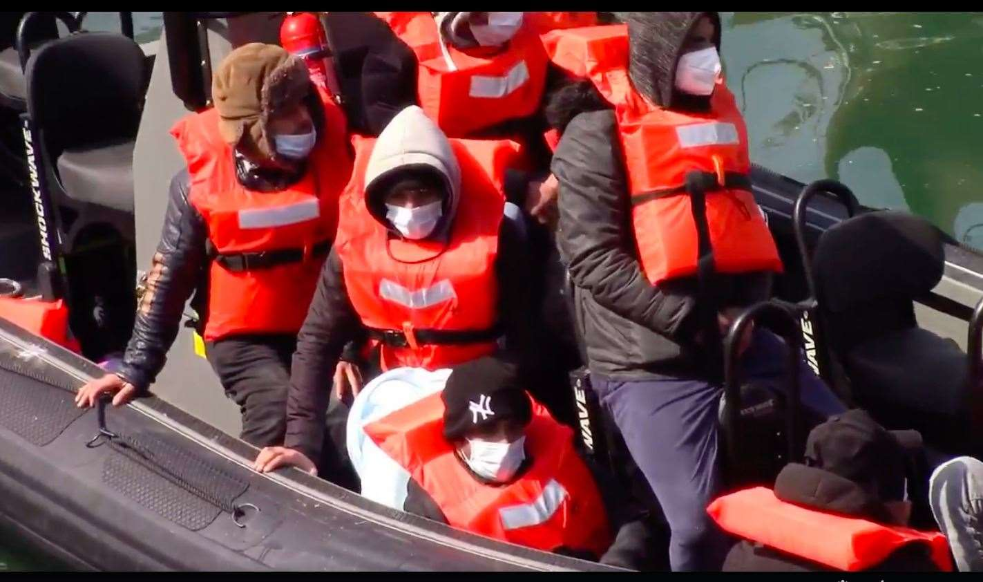 Asylum seekers continue to cross the Channel to seek asylum. Picture: Chris Johnson