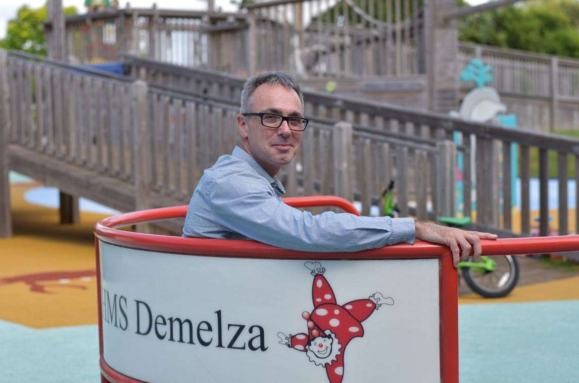 Ryan Campbell, chief executive of Demelza Hospice Care for Children