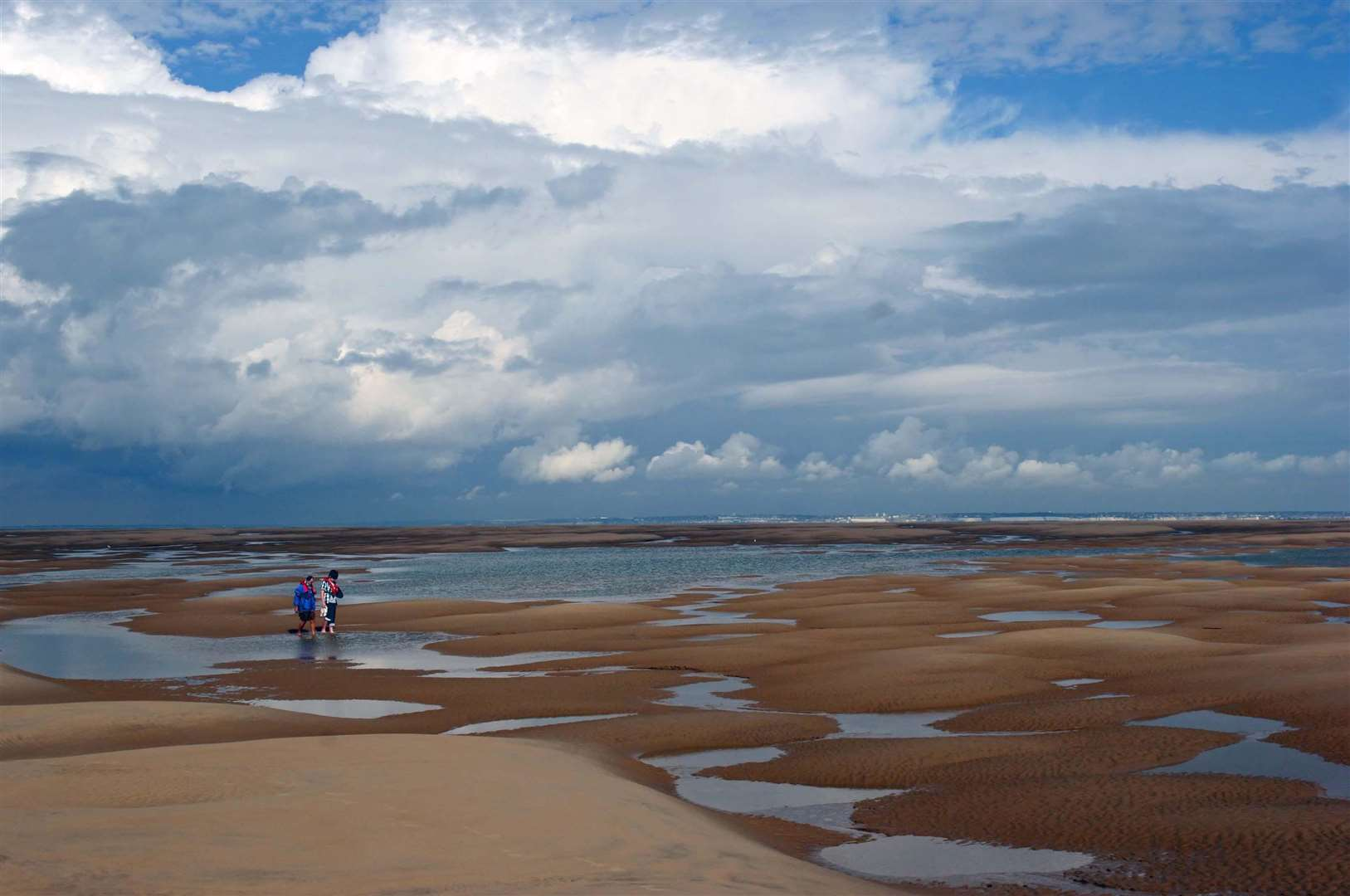 The Goodwin Sands. Picture by Ian Goodban