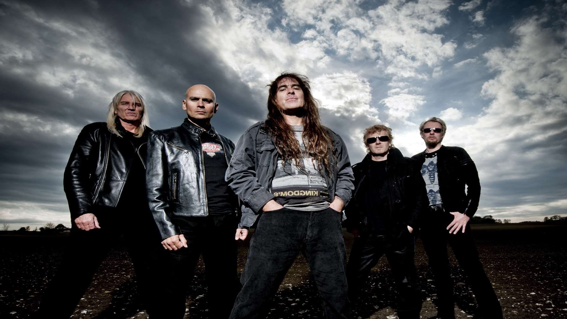 British Lion, led by Steve Harris from Iron Maiden