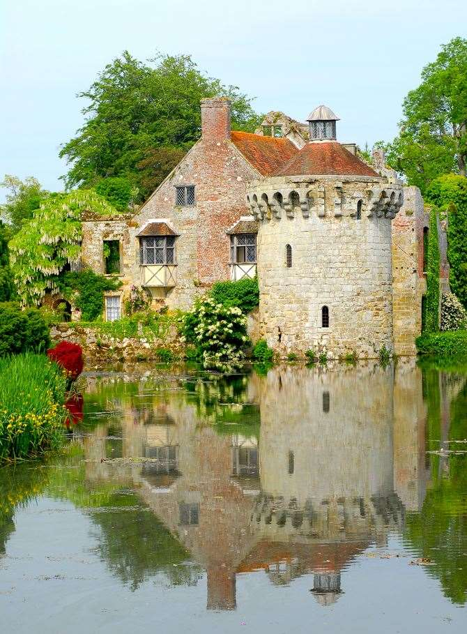 Scotney Castle is one of the sites that has reopened to pre-booked tickets