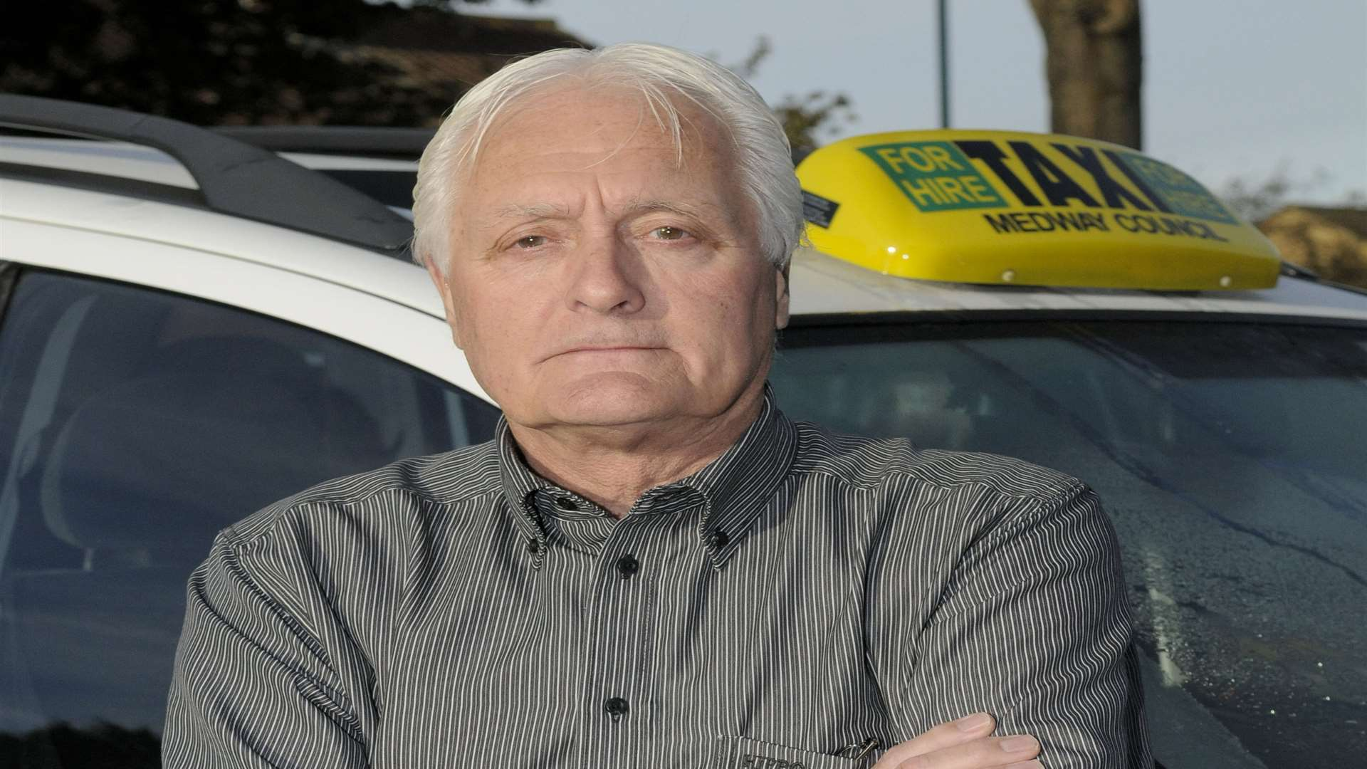 Mike Smith, chairman of Medway Licensed Taxi Drivers' Association