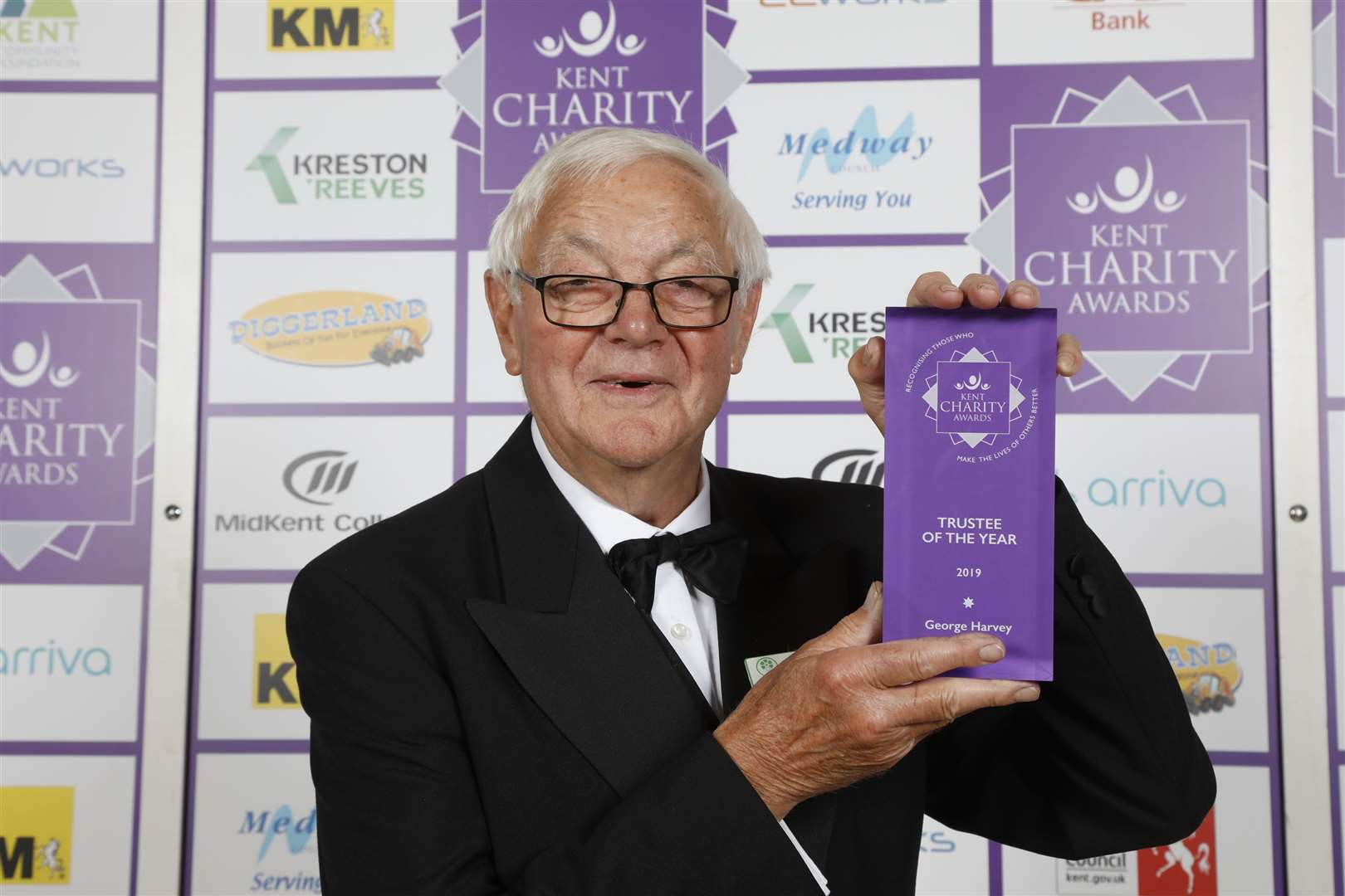 George Harvey was named Trustee of the Year for his 32-year stint at Spadework, which also won an award on the night (12341052)