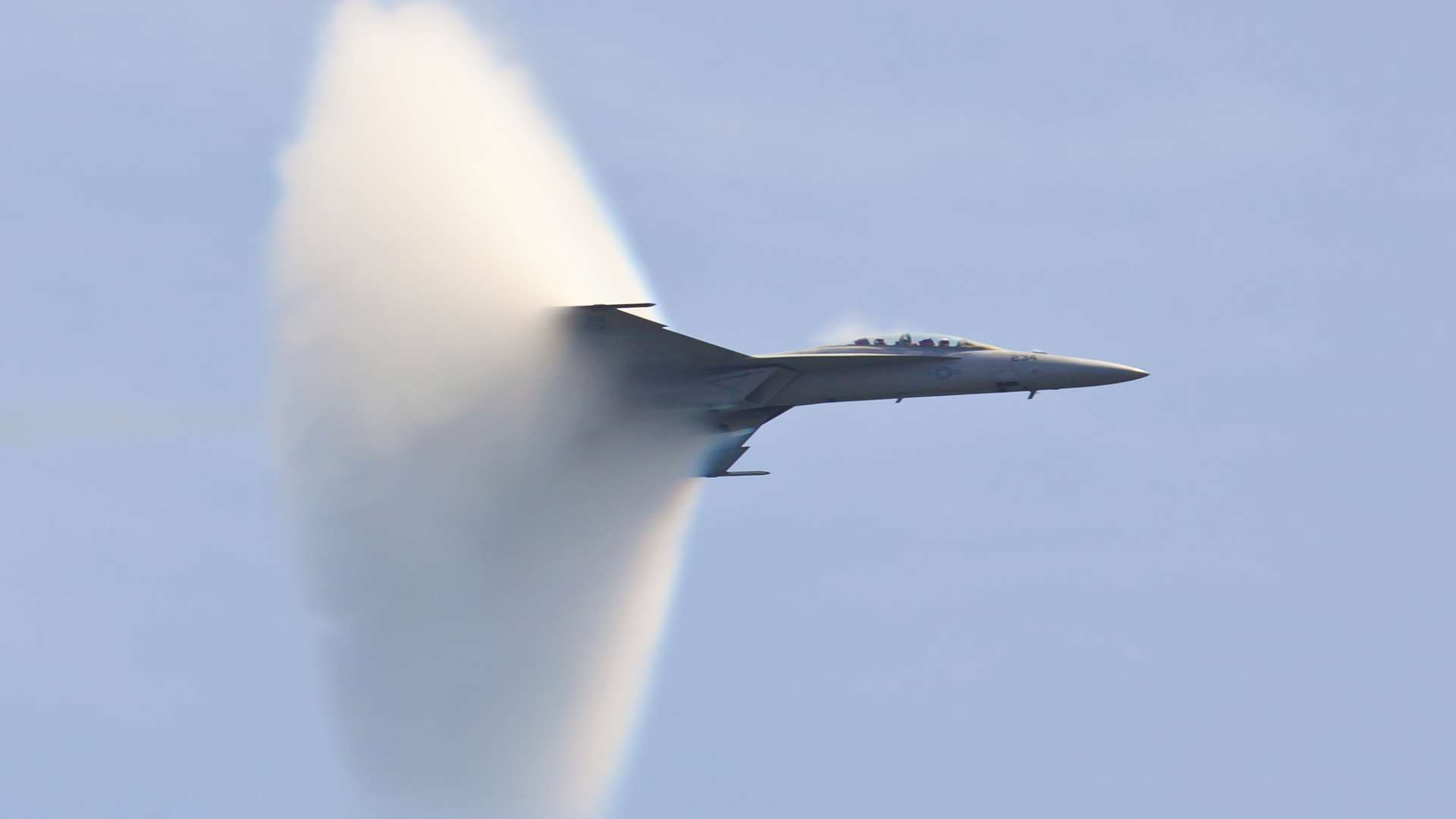 Some have reported the noise could have been caused by a sonic boom. Picture: Rypson