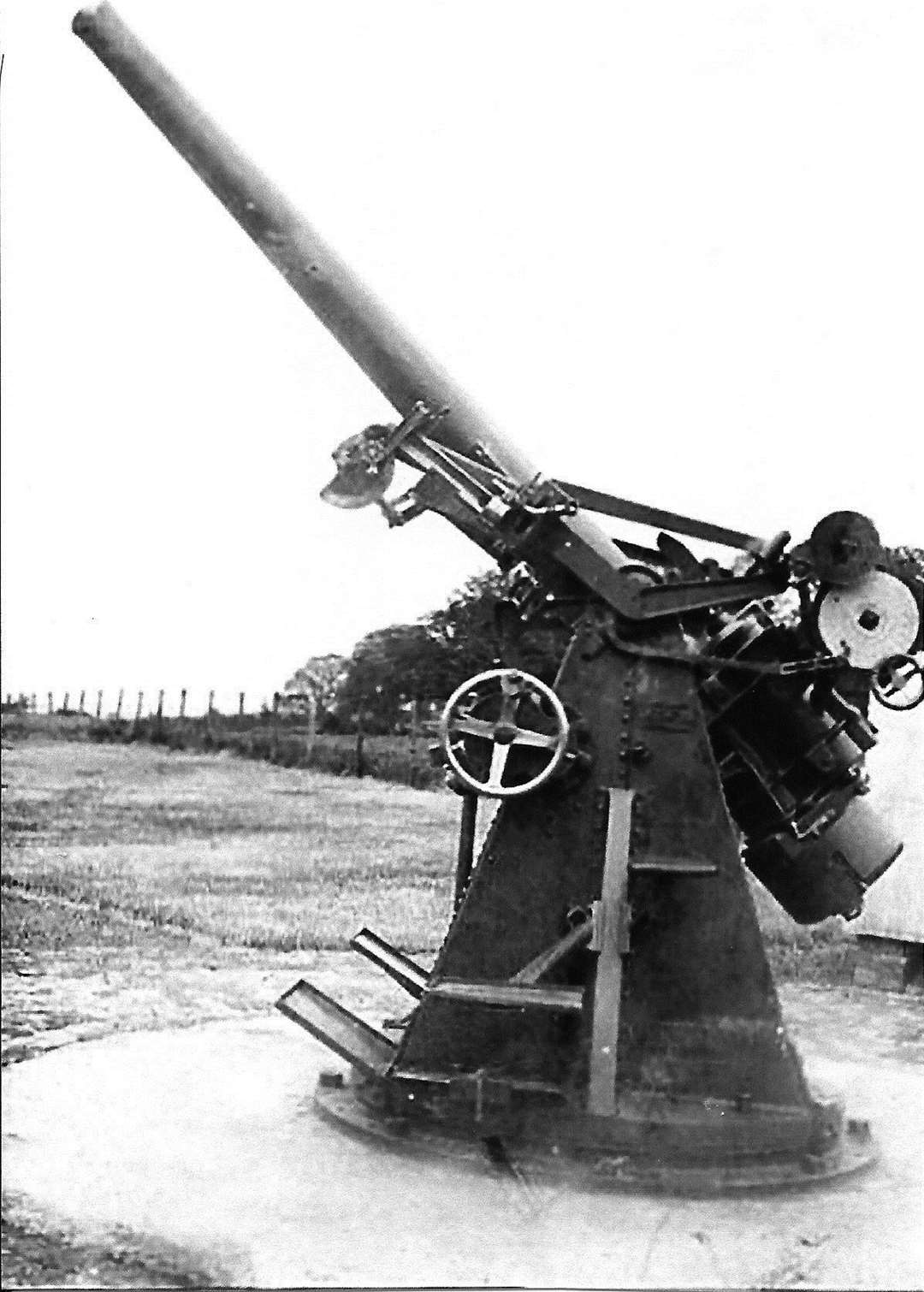 Bassa gun used as part of the defences. Picture: Historial Research Group of Sittingbourne