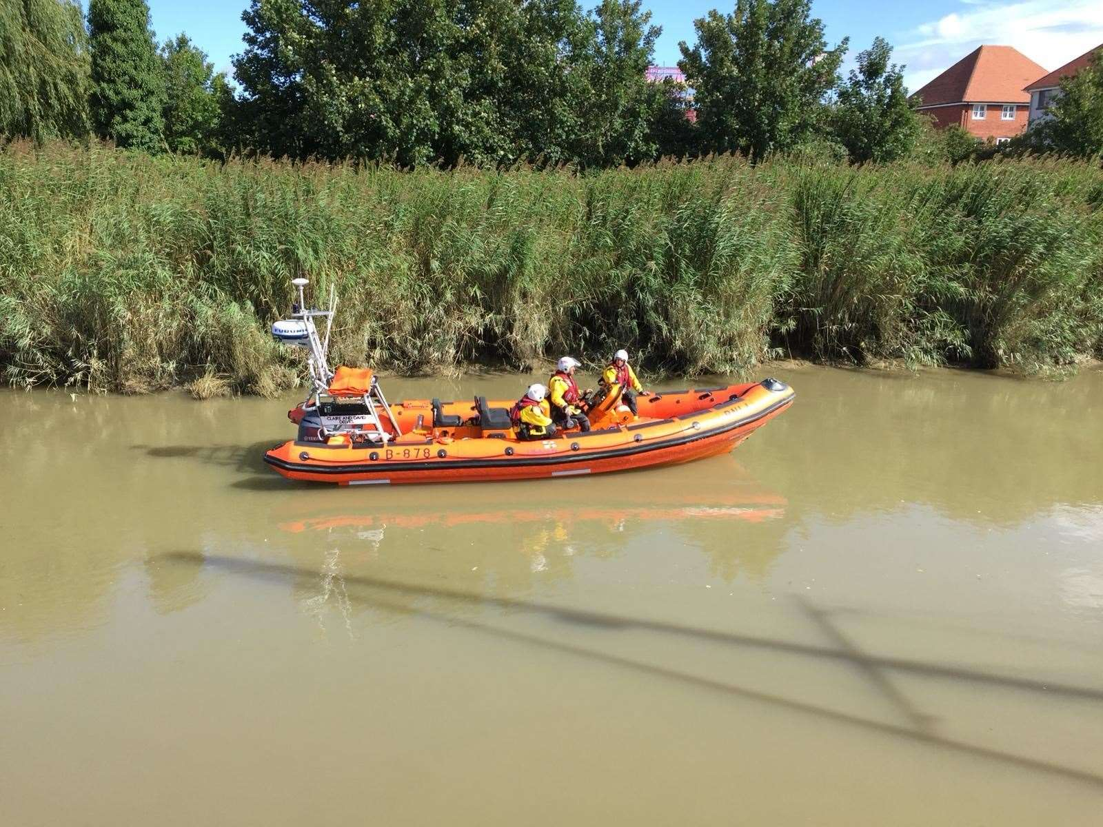 Search teams out on the river looking for Lucas Dobson (15388169)