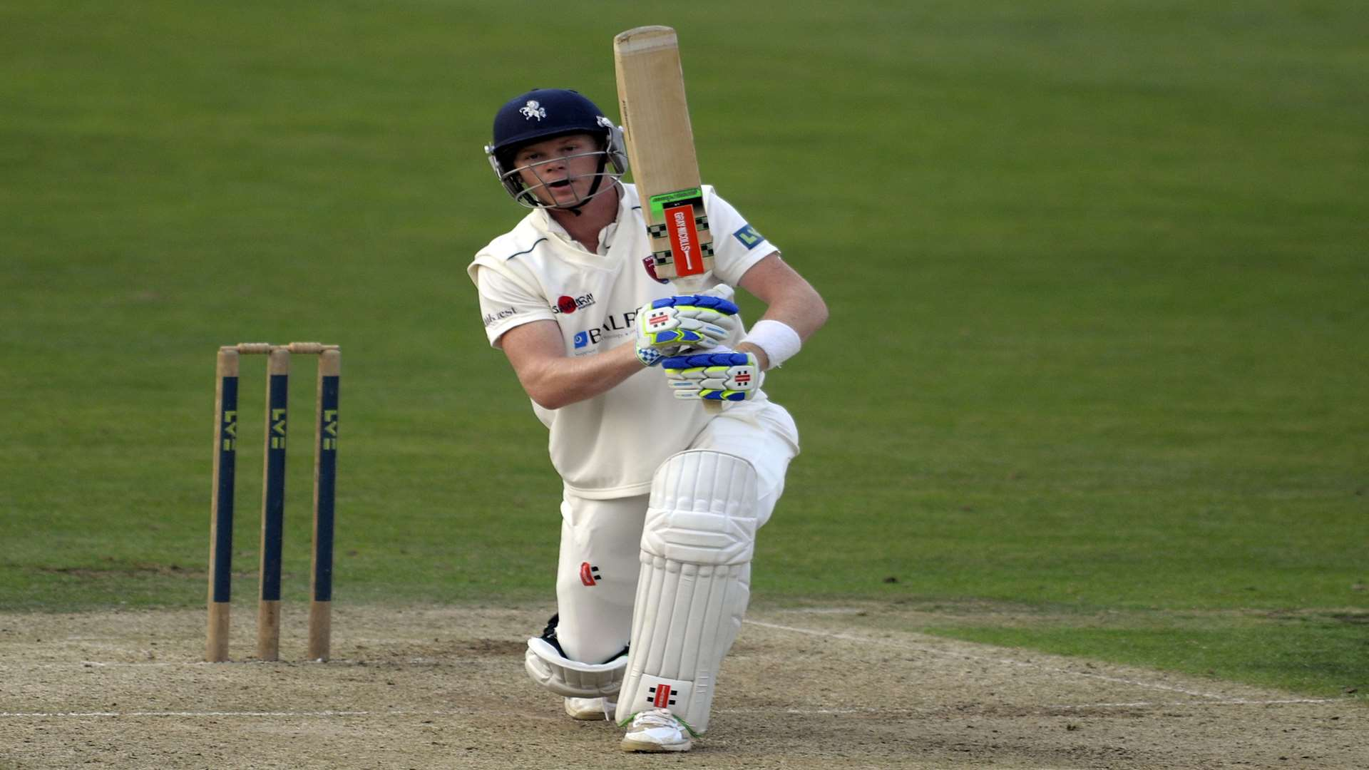 Kent's Sam Billings Picture: Barry Goodwin.