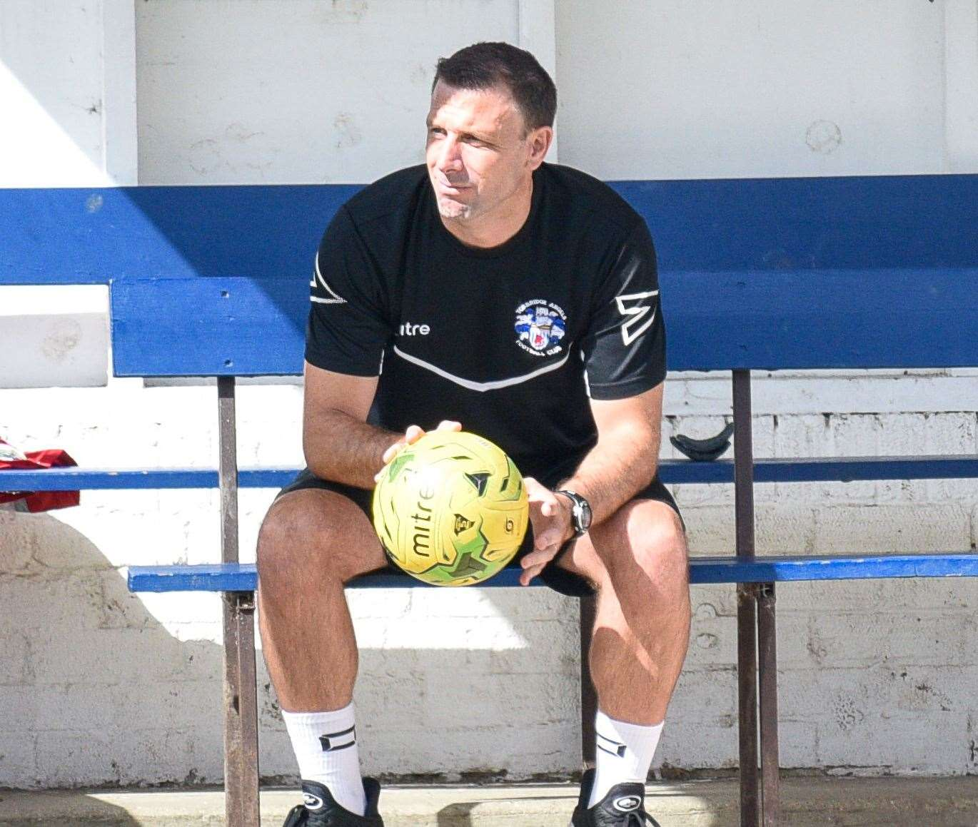 Tonbridge manager Steve McKimm Picture: Alan Langley