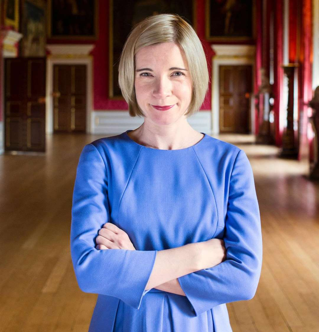 Lucy Worsley will be at the festival