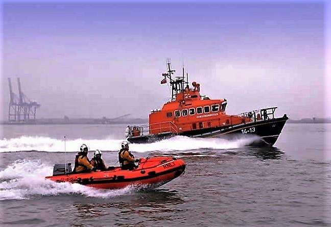 Lifeboat crews were scrambled three times in just over 24 hours (3436128)