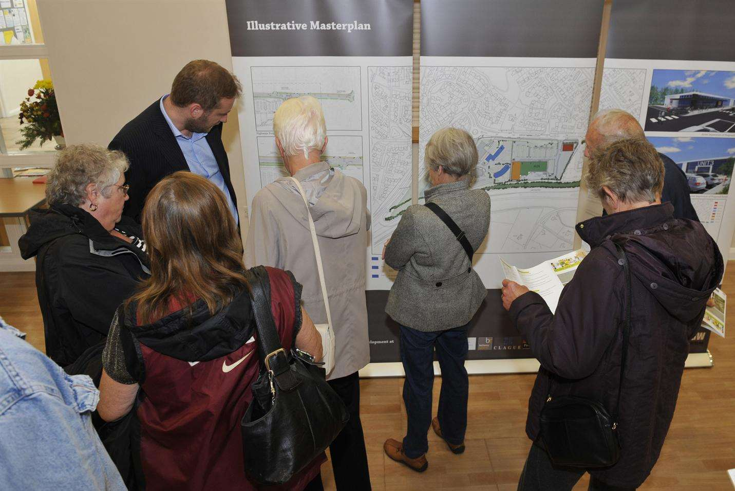 Residents pore over plans to redevelop Estuary View