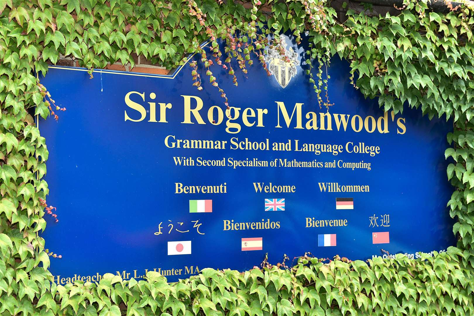 Sir Roger Manwood's school will shut for the week while the event is staged