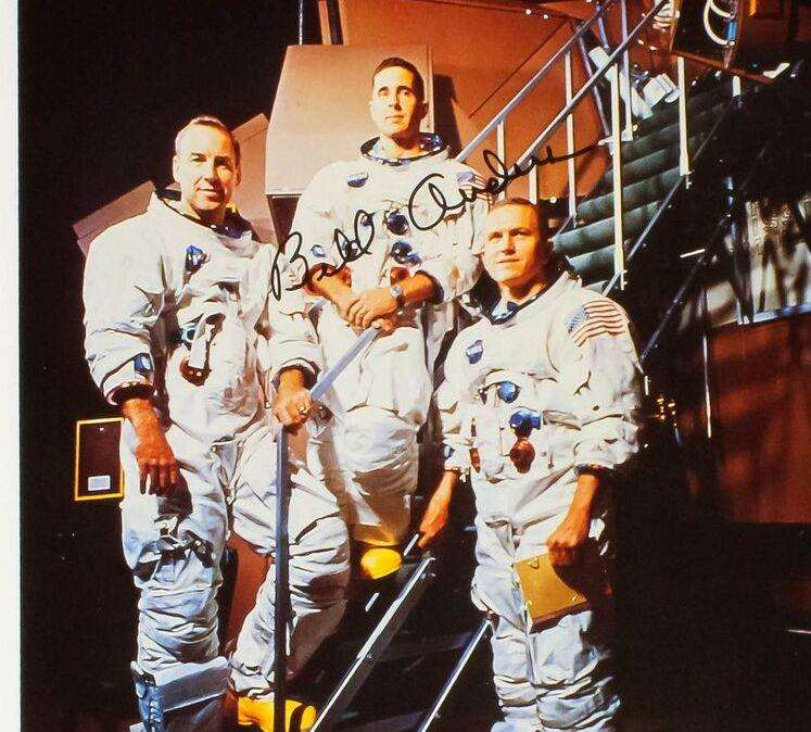 The second manned Apollo 8 mission