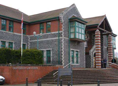 Canterbury Crown Court. Stock picture
