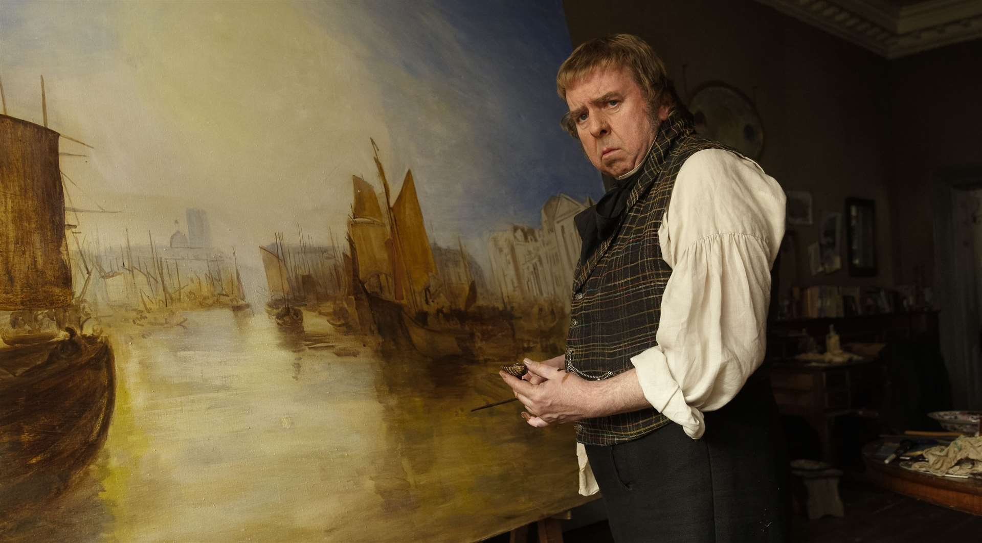 Timothy Spall as Turner