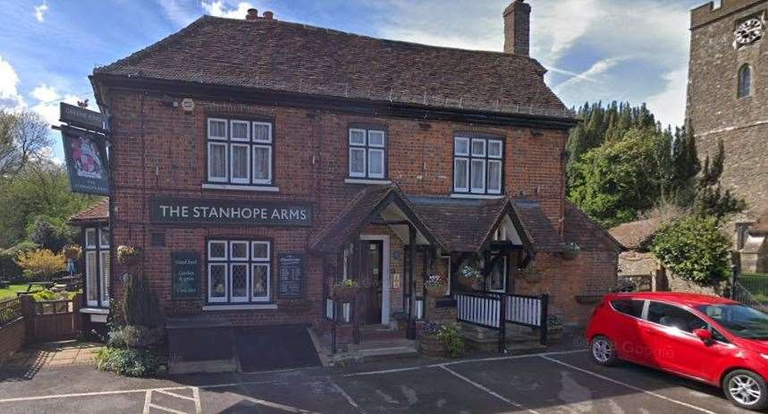 White was the landlord of the Stanhope Arms in Brasted