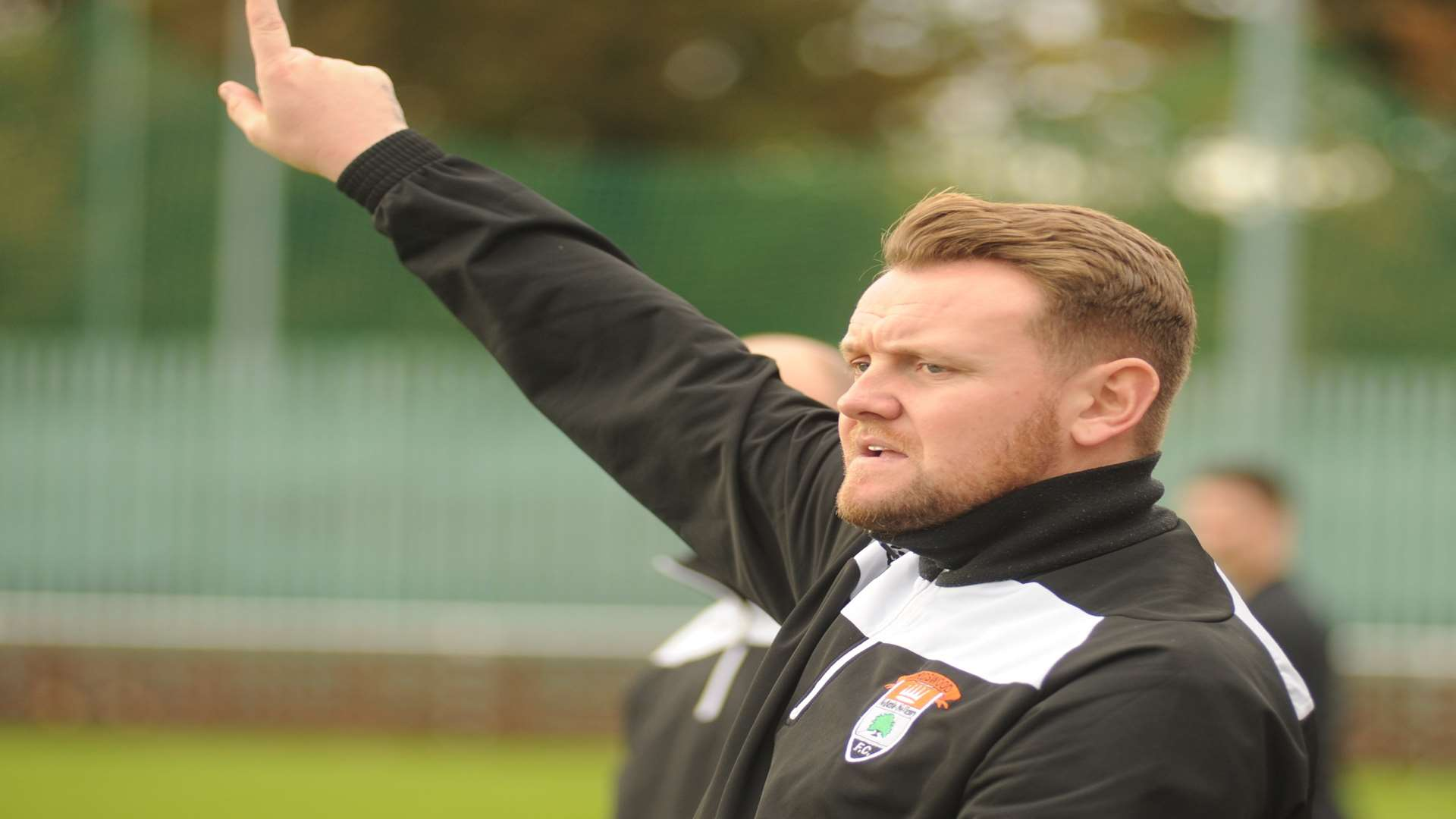 Lordswood manager Richard Styles. Picture: Andy Payton