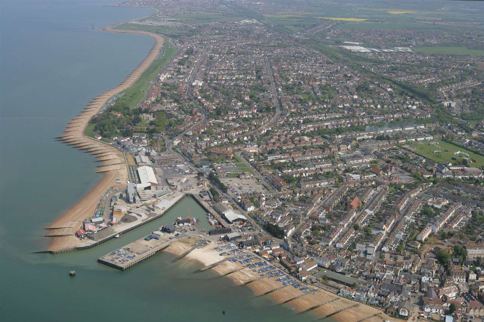 Whitstable is another popular Airbnb destination, with over 300 units available, compared to just 17 rental units on Rightmove.