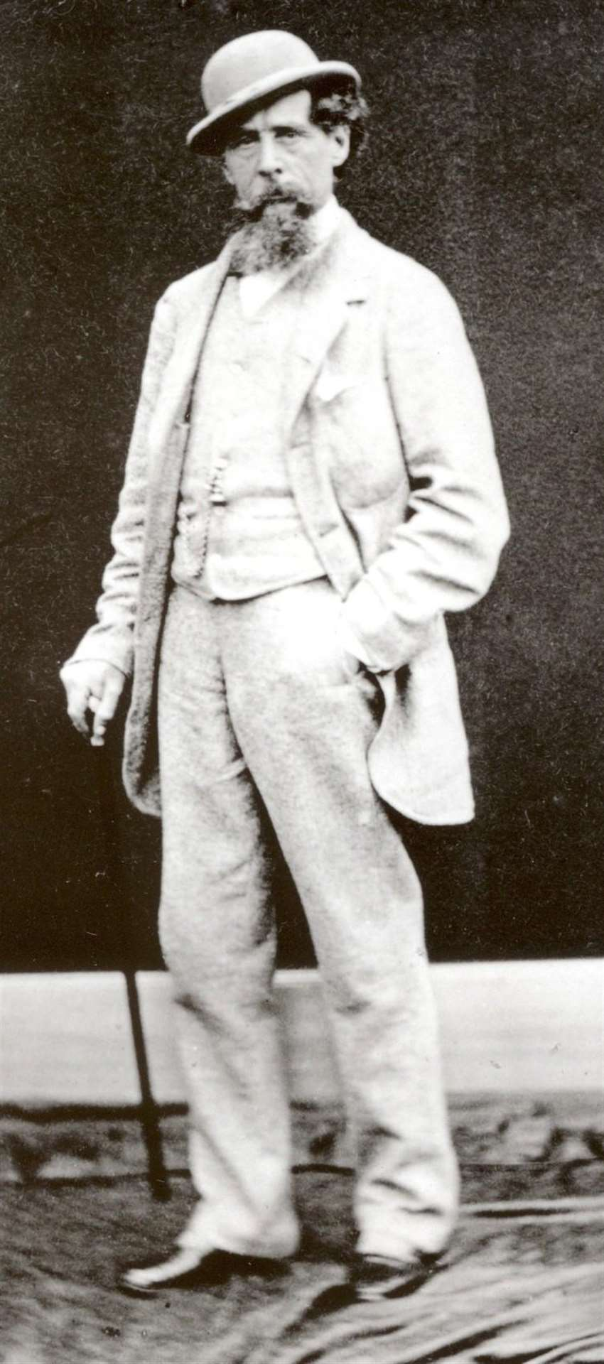 Kent's most famous author Charles Dickens