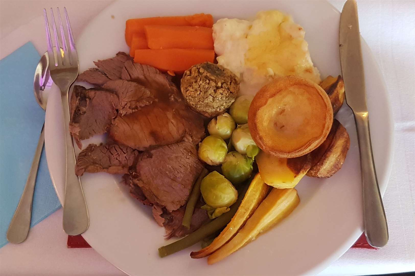 The £1 roast dinner at The Britannia in Margate (7654074)