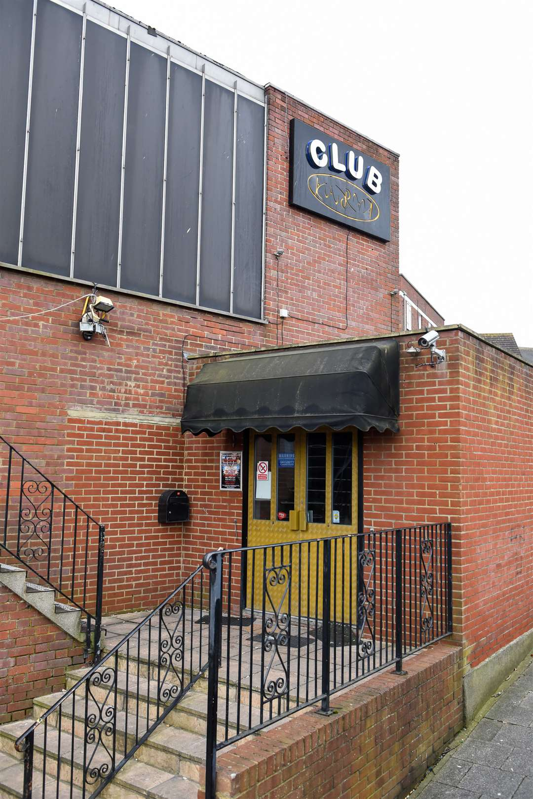 The stabbing took place outside Deja Vu in Dover last year