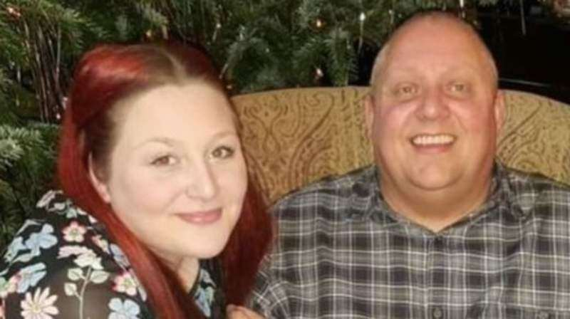 Mr Whitfield, pictured with his daughter Charli Whitfield, died after two weeks in hospital Photo: LDR