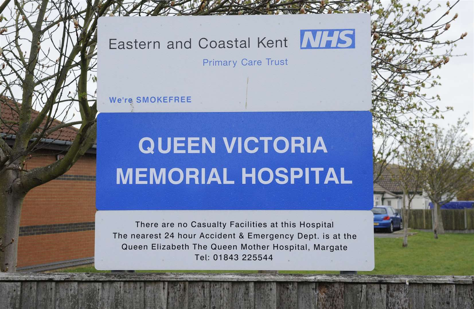 Queen Victoria Hospital, King Edward Avenue, Herne Bay