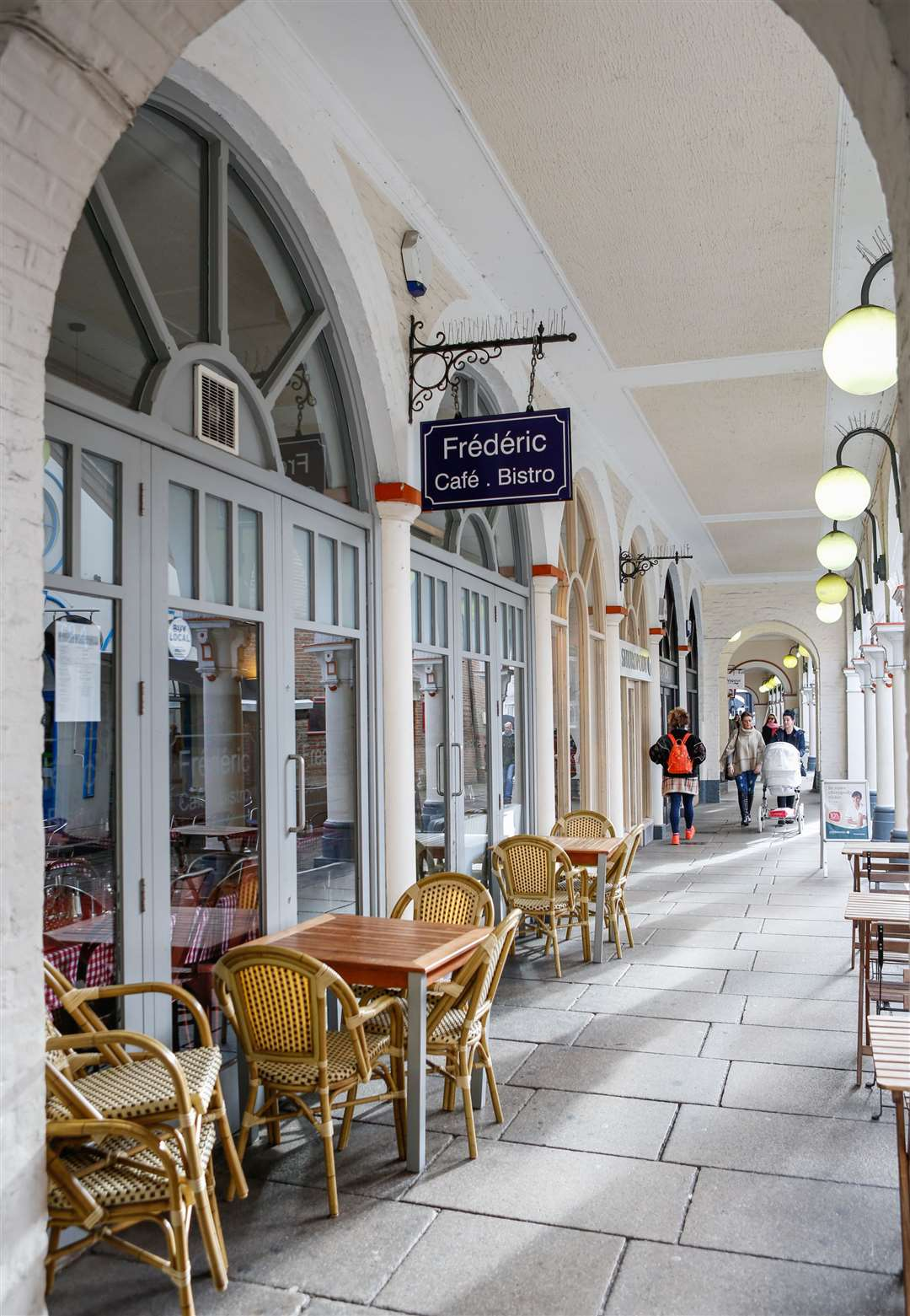 Frederic Cafe Bistro in Market Buildings, Maidstone. Picture: Matthew Walker