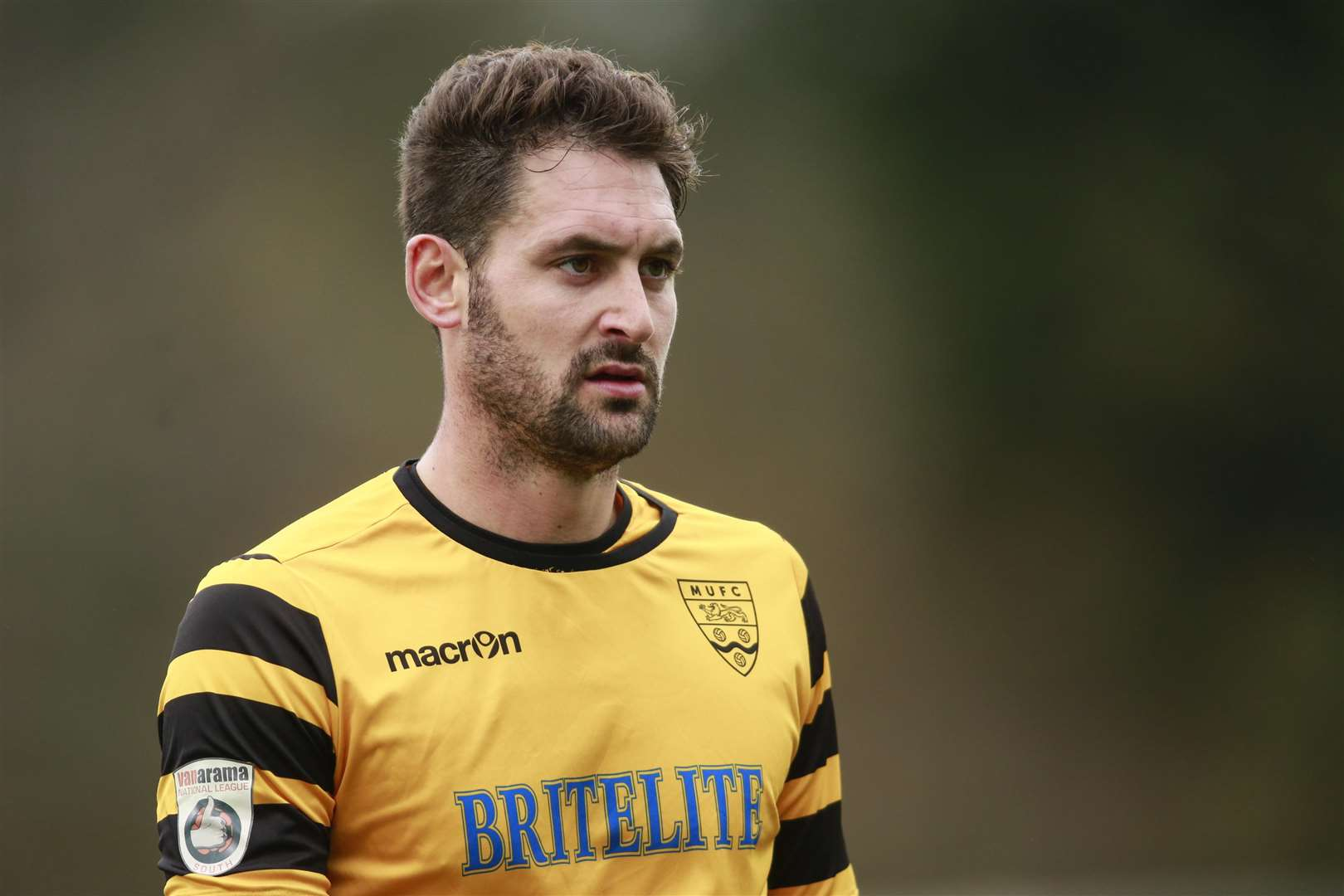Former Maidstone striker Jay May is now at Ashford Picture: Martin Apps