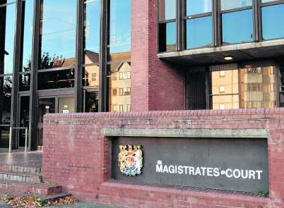 The case was heard at Folkestone Magistrates' Court