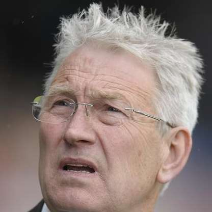 Dover Athletic manager Chris Kinnear