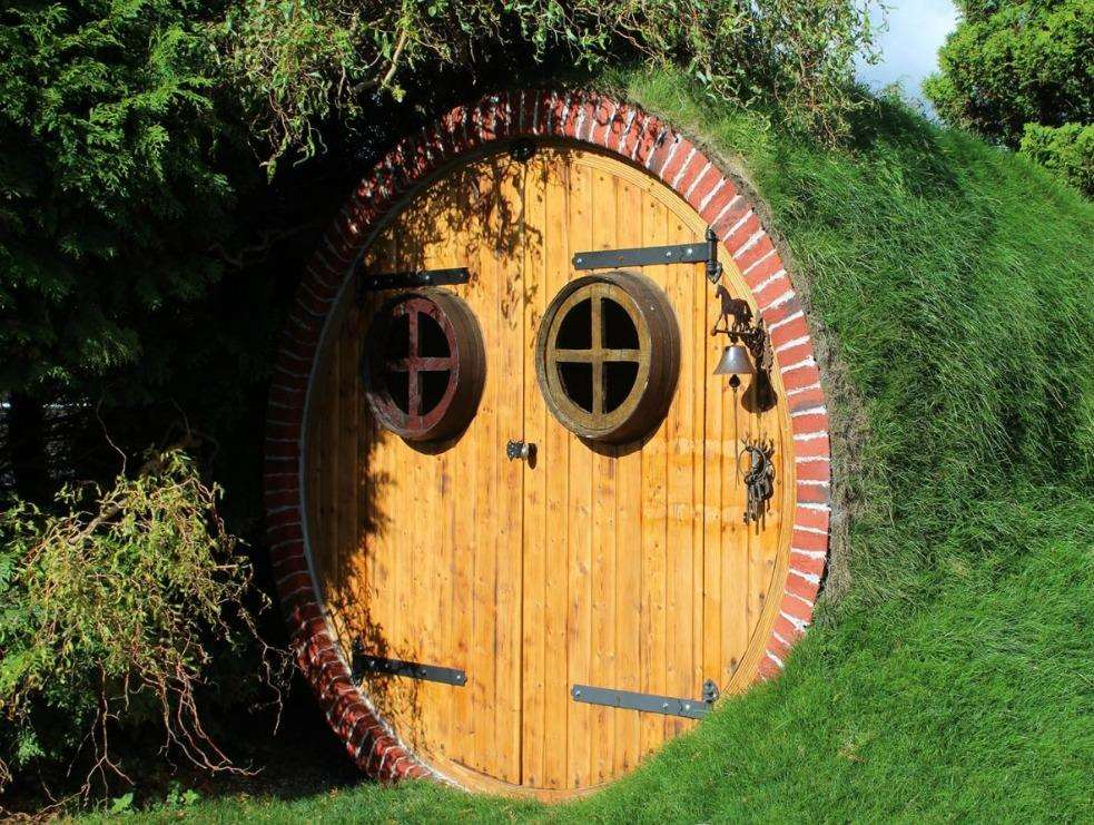 The hobbit house, which is costing Caroline Gilson £40,000, could look like this