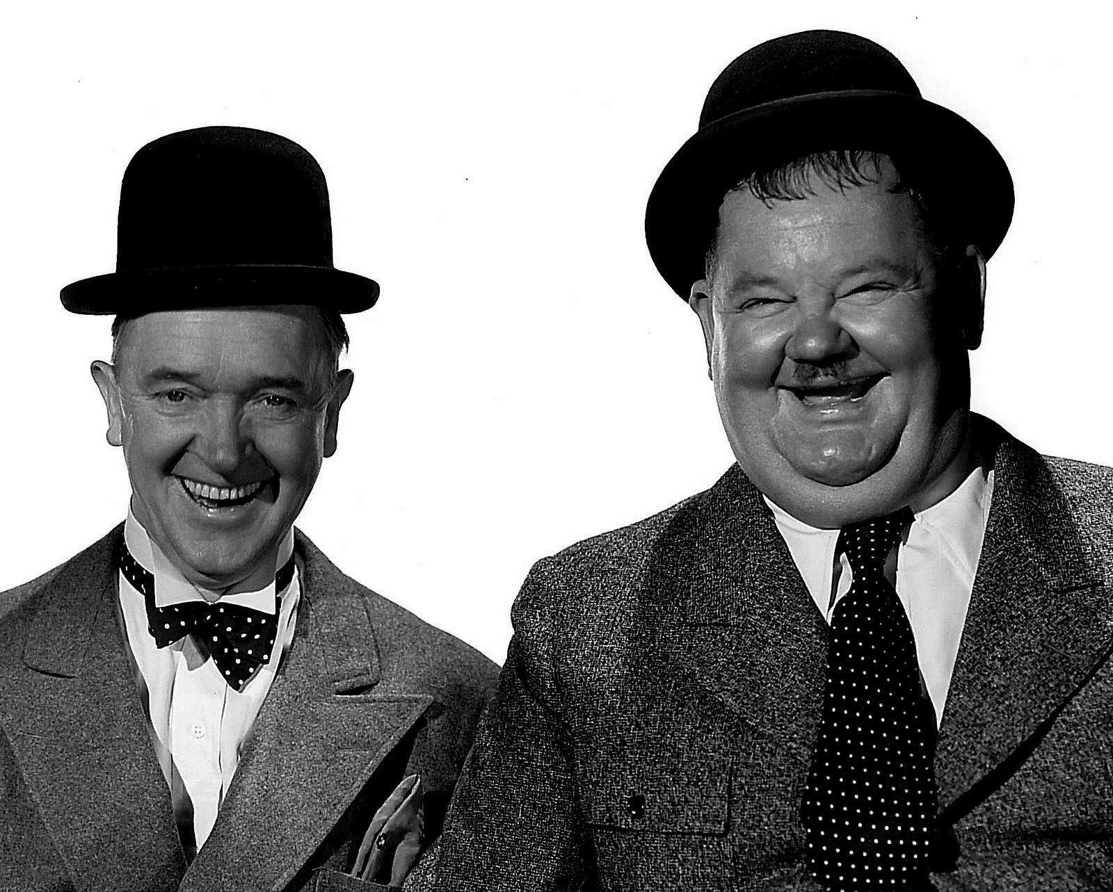 Comedy legends Laurel & Hardy